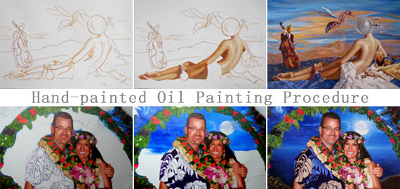 Portrait painting, wholesale oil paintings