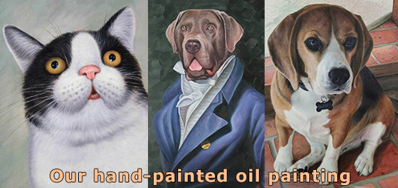 Portrait paintings & oil painting reproductions