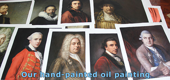 Canvas paintings, hand painted portrait paintings