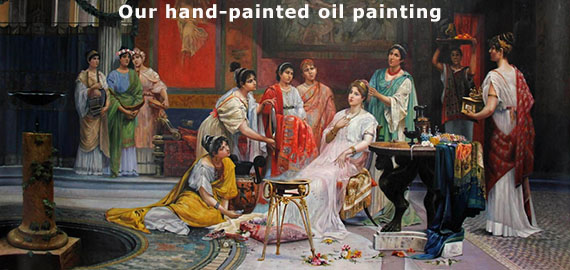 Canvas paintings, handmade oil paintings