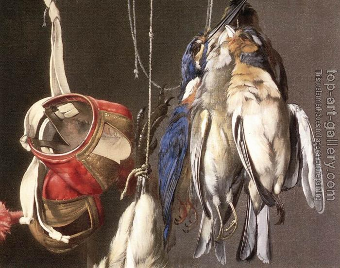 Willem Van Aelst : Hunting Still-Life (detail)