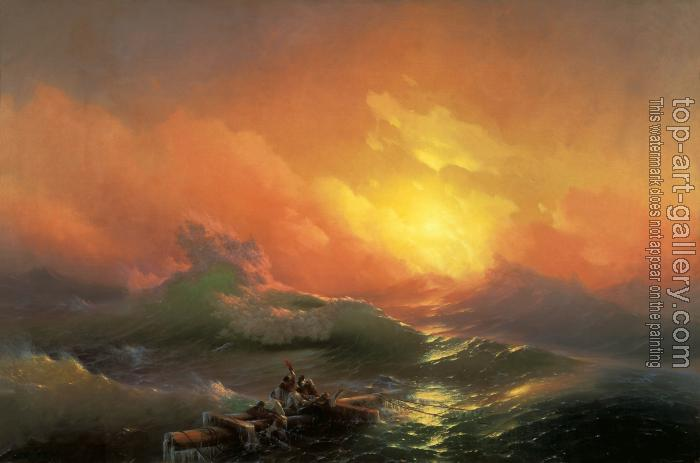 Ivan Constantinovich Aivazovsky : The Ninth Wave