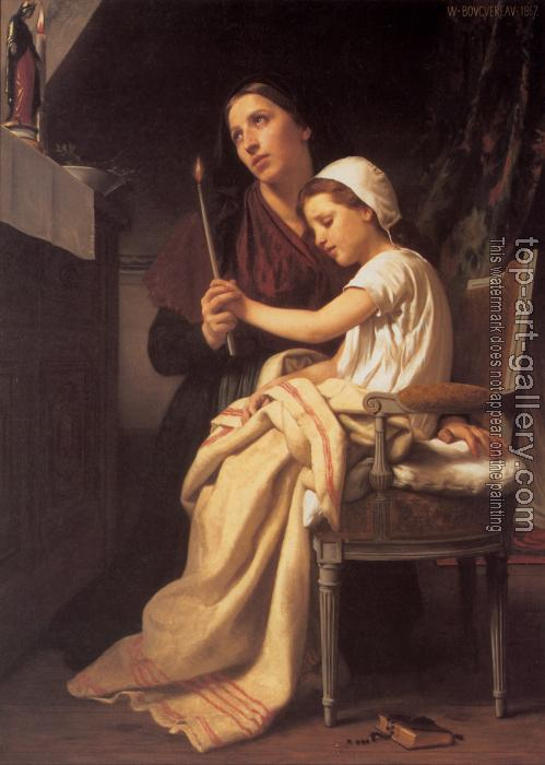 William-Adolphe Bouguereau : The Thanks Offering