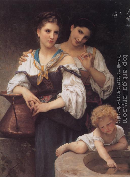William-Adolphe Bouguereau : The Secret