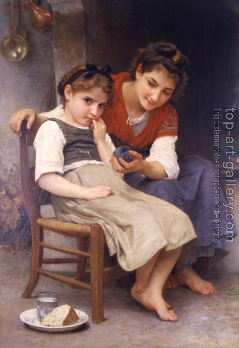William-Adolphe Bouguereau : The little sulk