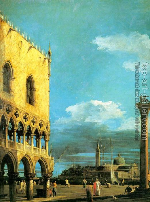Canaletto : The Piazzetta, Looking South