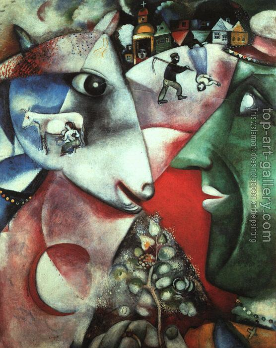 Marc Chagall : I and the Village