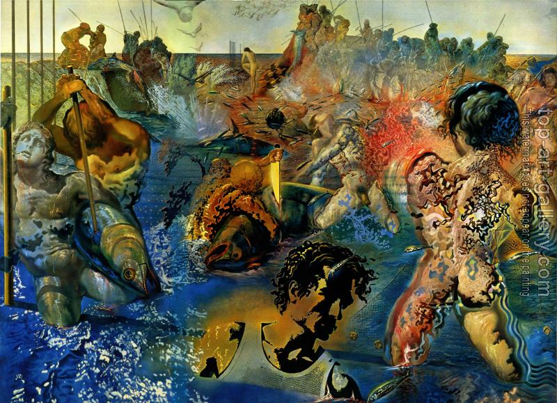 tuna fishing by salvador dali oil painting reproduction