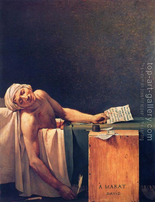 jaques louis david mordern artist essay