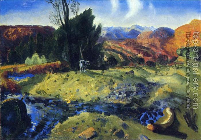 George Wesley Bellows : Autumn Brook