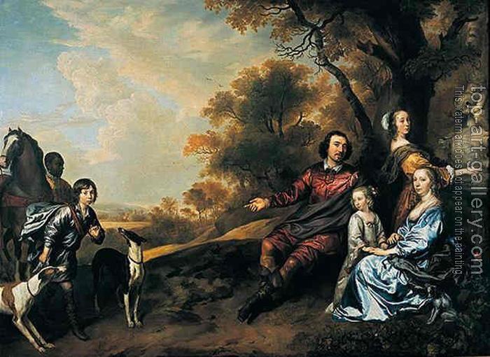 Jan Mytens Family Group Portrait