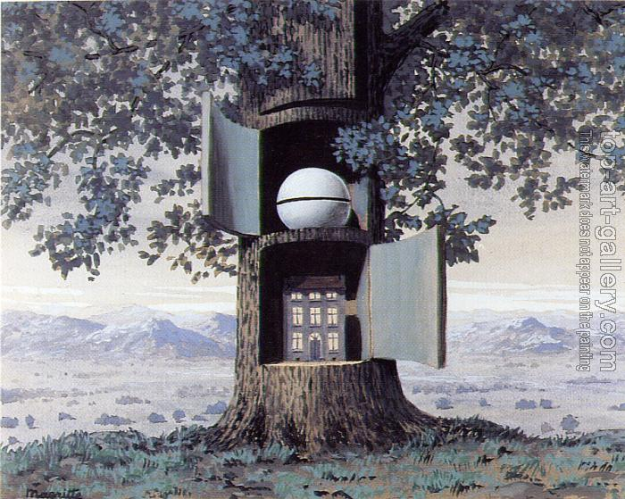 Blood will tell iii by rene magritte oil painting reproduction