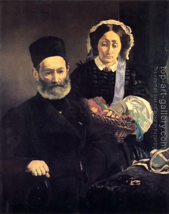 Edouard Manet : M. and Mme Auguste Manet