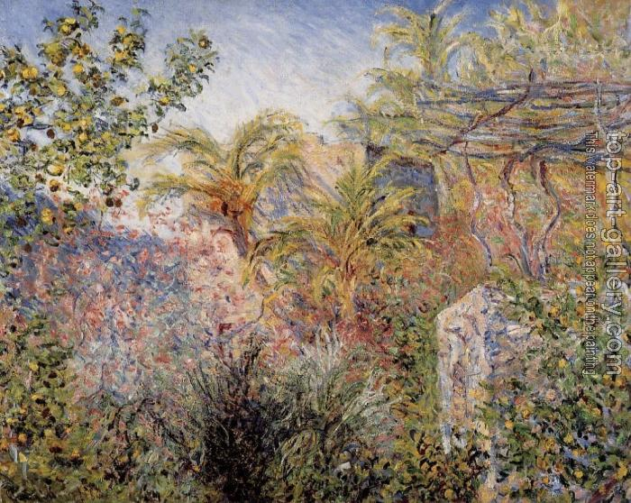 Claude Oscar Monet : The Valley of Sasso, Bordighera