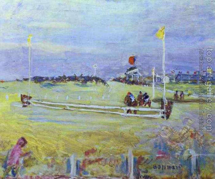 Pierre Bonnard : Race at Bologne