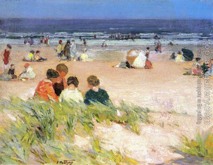 Edward Henry Potthast : By the Shore