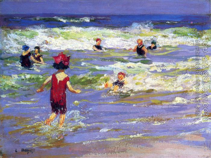 Edward Henry Potthast : Little Sea Bather
