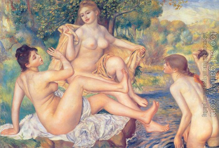 Pierre Auguste Renoir : The Large Bathers