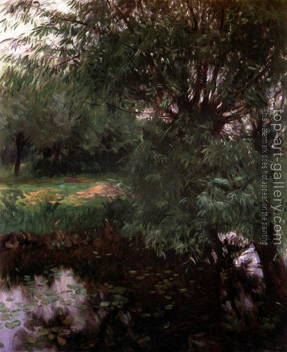 John Singer Sargent : A Backwater at Wargrave