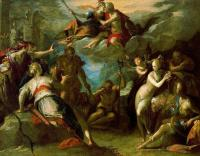 Hans Von Aachen : The Amazement of the Gods