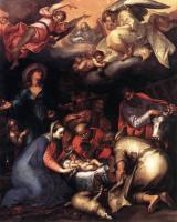 Abraham Bloemaert : Adoration Of The Shepherds