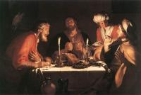 Abraham Bloemaert : The Emmaus Disciples