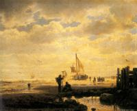 Andreas Achenbach : Bringing in the Catch