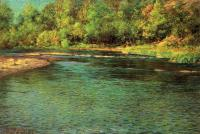 John Ottis Adams : Iridescence of a Shallow Stream