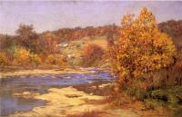 John Ottis Adams : Blue and Gold