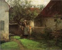 John Ottis Adams : Wash Day, Bavaria