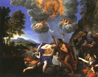 Francesco Albani : The Baptism of Christ
