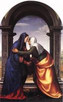 Mariotto Albertinelli : The Visitation