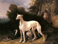Alfred Dedreux : A Greyhound In An Extensive Landscape