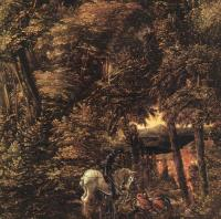 Albrecht Altdorfer : Saint George in the Forest