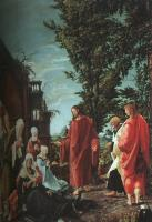Albrecht Altdorfer : Christ Taking Leave of His Mother