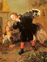 Sophie Gengembre Anderson : Christimas Time, Here's The Gobbler