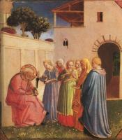 Fra Angelico : The Naming of St. John the Baptist