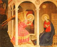 Fra Angelico : Annunciation