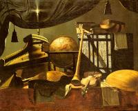 Evaristo Baschenis : Still-Life with Musical Instruments