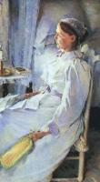 Cecilia Beaux : Graphic New England Woman (Mrs. Jedediah H. Richards)