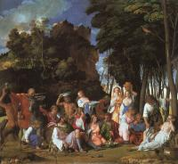 Giovanni Bellini : Feast of the Gods