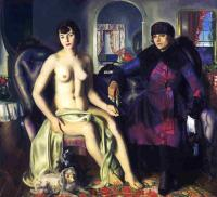 George Bellows : Sacred and Profane Love