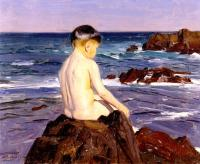 Benito Rebolledo Correa : At The Beach
