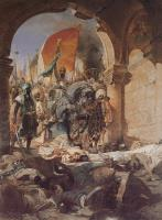 Benjamin Jean Joseph Constant : The Entry of Mahomet II into Constantinople