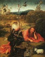 Hieronymus Bosch : St. John the Baptist in the Wilderness
