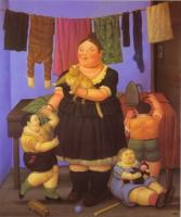 Fernando Botero : The Widow