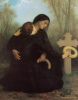 William-Adolphe Bouguereau : All Saints' Day (Le jour des morts)