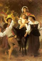 William-Adolphe Bouguereau : Return from the Harvest