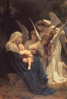 William-Adolphe Bouguereau : Song of the Angels