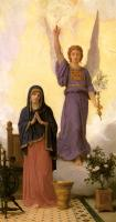 William-Adolphe Bouguereau : The Annunciation